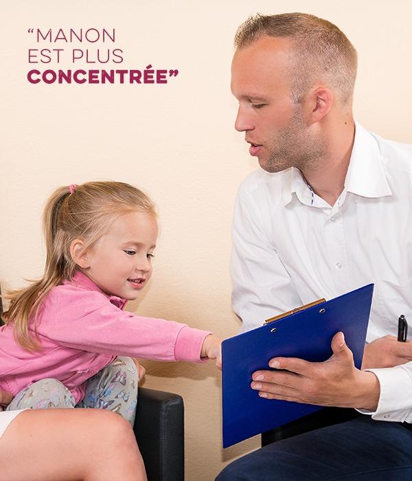 enfant concentration et hypnose